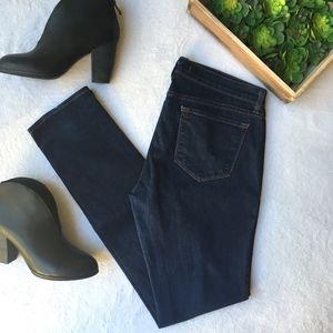 J Brand pencil leg pure dark wash skinny jeans